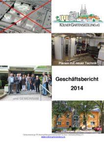 KGS-Geschäftsbericht 2014
