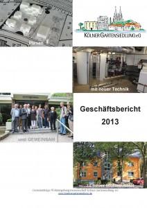 KGS-Geschäftsbericht 2013