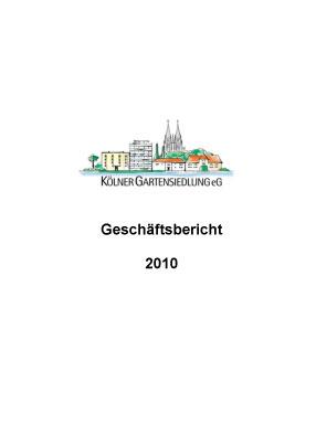 KGS-Geschäftsbericht 2010