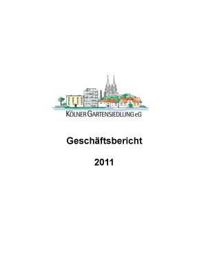 KGS-Geschäftsbericht 2011