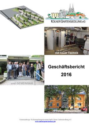 KGS-Geschäftsbericht 2016